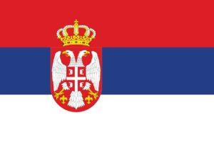 serbia, flag, national flag